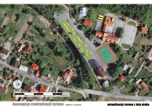 des-zabnica-przedszkole_zdjecie lotnicze projektu